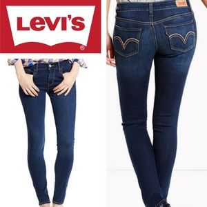 Levi's 524 Too Superlow Dark Skinny Jean